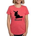 iBoard Womens Tri-blend T-Shirt