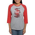 TKD Dragon Womens Baseball Tee