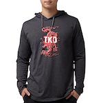TKD Dragon Mens Hooded Shirt