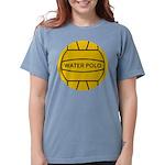 Water Polo Ball Womens Comfort Colors Shirt