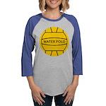 Water Polo Ball Womens Baseball Tee