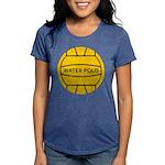 Water Polo Ball Womens Tri-blend T-Shirt
