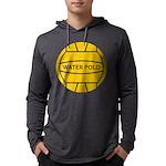 Water Polo Ball Mens Hooded Shirt