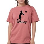 iVolley Volleyball Womens Comfort Colors Shirt