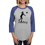 iVolley Volleyball Womens Baseball Tee