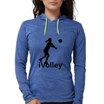 iVolley Volleyball Womens Hooded Shirt