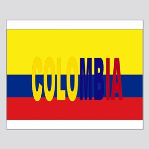 Colombia tricolor Small Poster