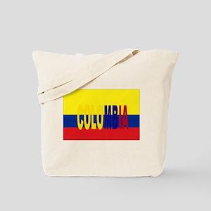 Colombia tricolor Tote Bag