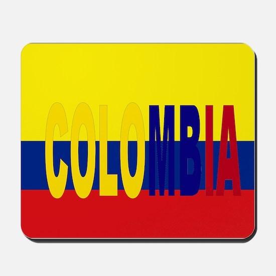 Colombia tricolor Mousepad