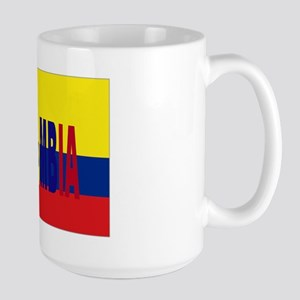Colombia tricolor Large Mug