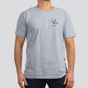 SEAL Team 3 Patch Men's Fitted T-Shirt (dark)