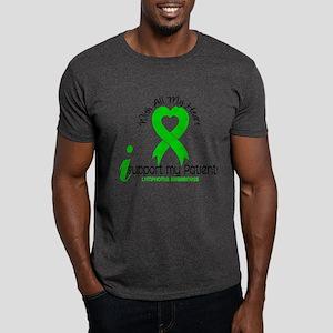 With All My Heart Lymphoma Dark T-Shirt