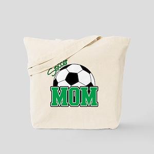 Soccer Mom (Green) Tote Bag