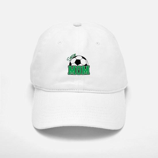 Soccer Mom (Green) Baseball Baseball Cap