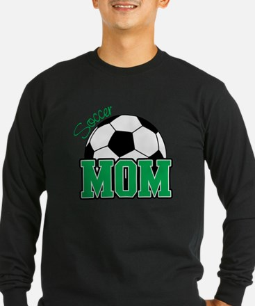 Soccer Mom (Green) T