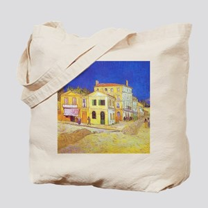 Van Gogh The Yellow House Tote Bag