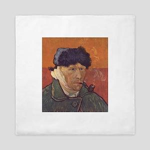 Van Gogh Self Portrait Queen Duvet