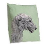 new Burlap Throw Pillow