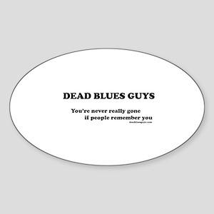 Never Gone Oval Sticker