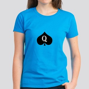 Queen of spades Women's Dark T-Shirt