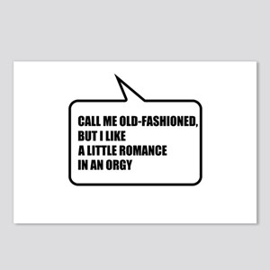 Call me old-fashioned Postcards (Package of 8)