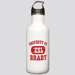 Property Of Brady Stainless Water Bottle 1.0L