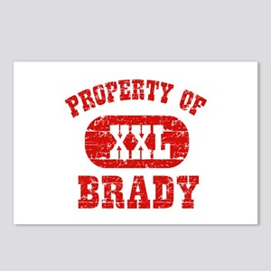 Property Of Brady Postcards (Package of 8)