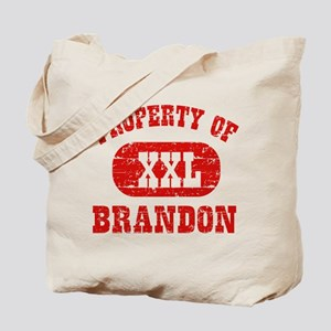 Property Of Brandon Tote Bag