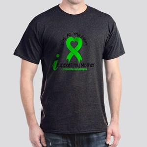 With All My Heart Lymphoma Dark T-Shirt