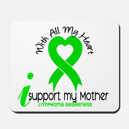 With All My Heart Lymphoma Mousepad