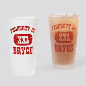 Property Of Bryce Drinking Glass