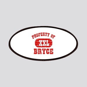 Property Of Bryce Patches