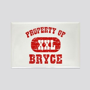 Property Of Bryce Rectangle Magnet