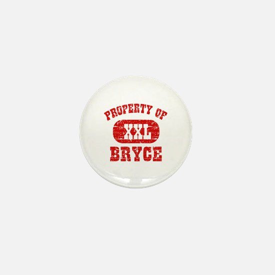 Property Of Bryce Mini Button