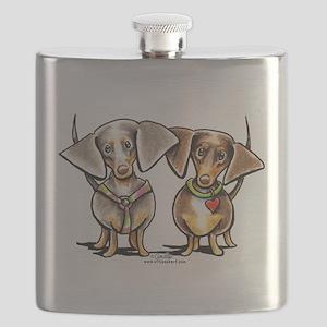 Dashing Dapples Flask