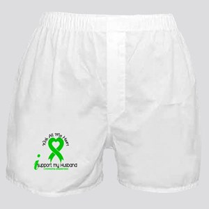 With All My Heart Lymphoma Boxer Shorts