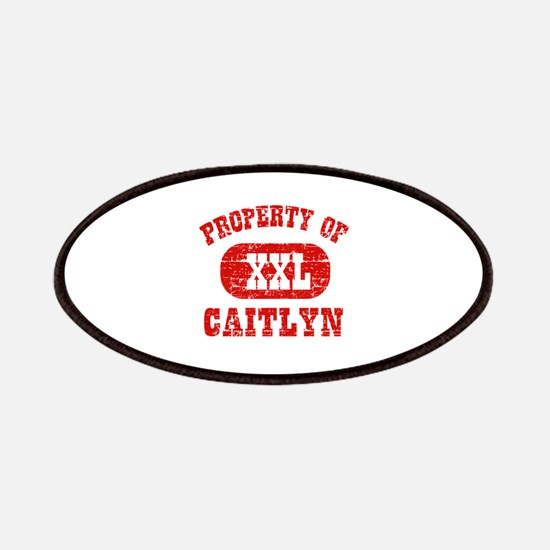 Property Of Caitlyn Patches