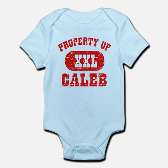Property Of Caleb Infant Bodysuit