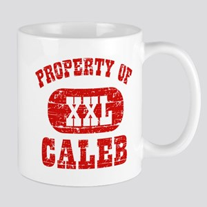 Property Of Caleb Mug