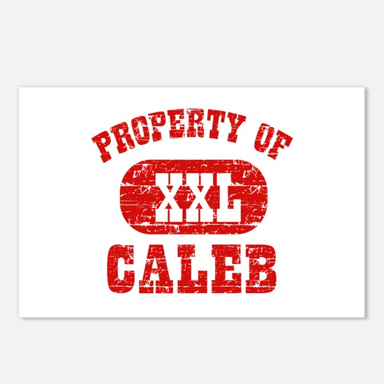 Property Of Caleb Postcards (Package of 8)