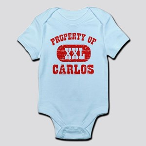Property Of Carlos Infant Bodysuit