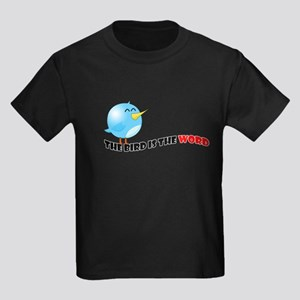 Bird is the word Kids Dark T-Shirt