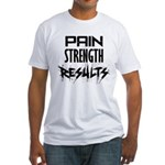 Pain - Results Fitted T-Shirt