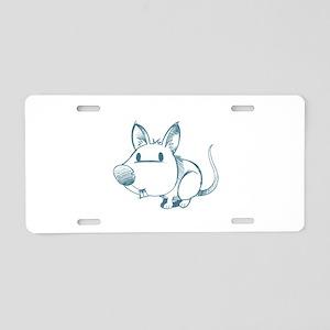 Mouse Aluminum License Plate