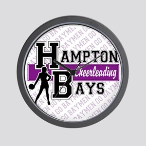 Hampton Bays Cheerleading Wall Clock