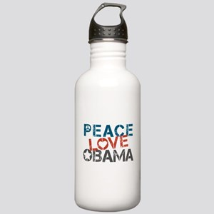 Peace Love Obama Stainless Water Bottle 1.0L