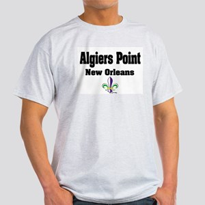 Algiers Point New Orleans Ash Grey T-Shirt