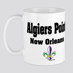 Algiers Point New Orleans Mug