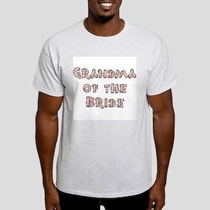 Country Grandma of the Bride Light T-Shirt