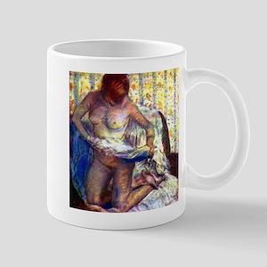 Degas - Kneeling Woman - Mug